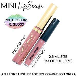 LipSense 2.5ml Larger Mini / Travel Size Authentic Lip Colors & Gloss 15% off 4+