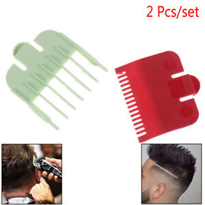 2X-Guia-de-Cortapelos-Reemplazo-de-Corte-de-Pelo-de-Afeitadora-de-Peine-Limitado