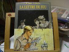 LA LETTRE DE FEU EO1993 TBE JAMAR CHARLIER