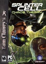 Tom Clancy's Splinter Cell Chaos Theory PC Games Window 10 8 7 Vista XP Computer