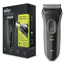 Braun Series 3 ProSkin 3000s Electric Shaver Electric Razor for Men, Black