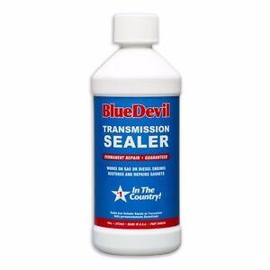 Details about Transmission STOP LEAK Seal Conditioner BLUE DEVIL Tranny  fluid SeaLer 16oz pint