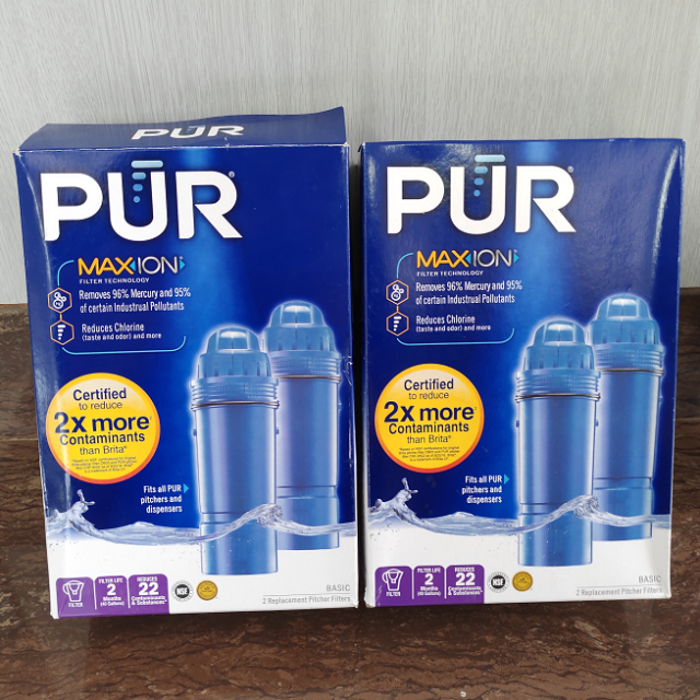 4 PACK PUR MAXION Replacement Pitcher Filter