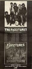 25/5/85pg15 Album Advert 15x5 The Fuzztones, Lysergic Emanations (the Damned)