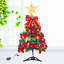 2ft-3ft-Hinged-Artificial-Christmas-Tree-Decoration-LED-Light-Ornament-Home miniature 11