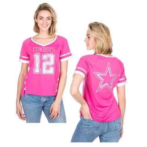 Dallas Cowboys Rosa Da Donna Vixen Jersey Top