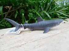 TIGER SHARK  detailed sealife underwater marine model Wild Safari toy 14cm