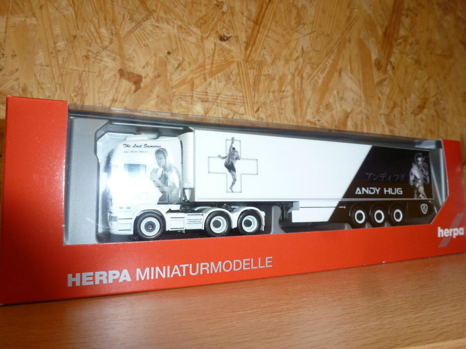 HERPA, 308519 Scania R TL 6x2 Kühlkoffer-semi-remorque  Von Wartburg  (CH)