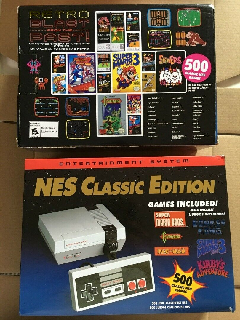 Nes Nintendo Classic Edition NES Mini Game Console USA Brand New in stock