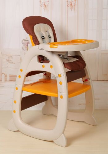 FoxHunter Baby Highchair Infant High Feeding Seat 3in1 Toddler Table Chair New