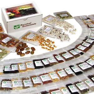 135-Variety-Non-Hybrid-Non-GMO-Heirloom-Survival-Garden-Seed-Bank-SKU135vABCDEYZ