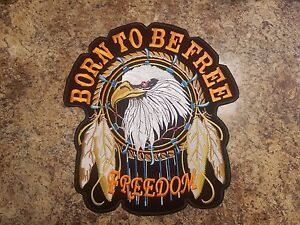 Born-To-Be-Free-Custom-Patch