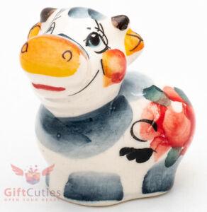 Martin Porcelain Figurine Symbol 2021 Bull Ox 10cm Gzhel