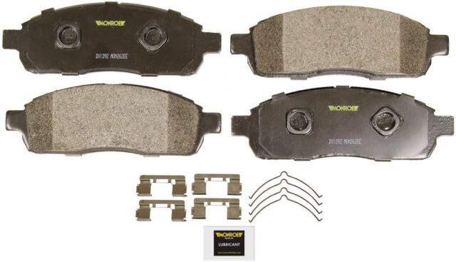 Disc Brake Pad Set-Total Solution Semi-Metallic Brake Pads Rear fits Seville