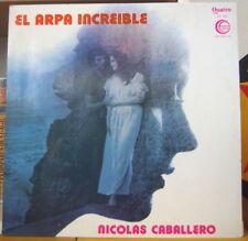NICOLAS CABALLERO EL ARPA INCREIBLE CHILE PRESS LP QUATRO 1975