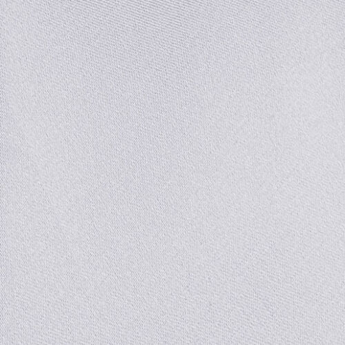 DQT Satin Plain Argent Massif Classique Slim skinny tie hanky cufflinks