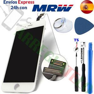 PANTALLA-PARA-iPhone-6-6-Plus-Blanca-TACTIL-LCD-Marco-Completa-DISPLAY-White