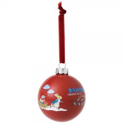 Beatrix Potter Peter Rabbit Décoratif Rouge Arbre De Noël Babiole