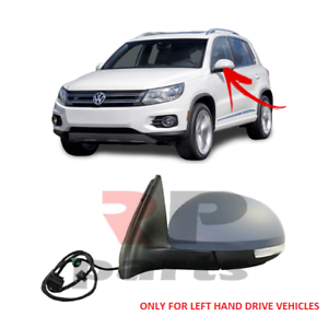 FOR-VW-TIGUAN-07-16-WING-MIRROR-ELECTRIC-HEATED-9-PIN-INDICATOR-LEFT-LHD