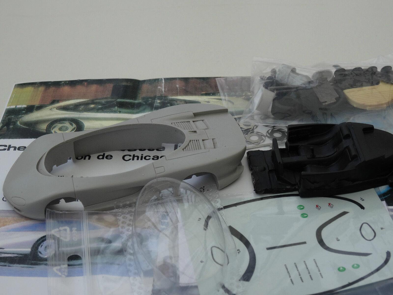 Chestnut models. 1 43. chevrolet corvette indy concept.. 1986.