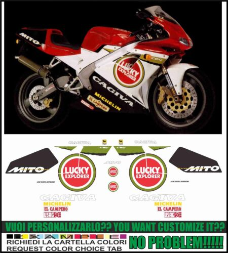 Kit stickers stickers Compatible Myth EV Lucky EX 1995