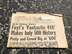 JUNE-1-1976-NATIONAL-SPEED-amp-SPORTS-NEWS-car-racing-newspaper-INDY-500-FOYT