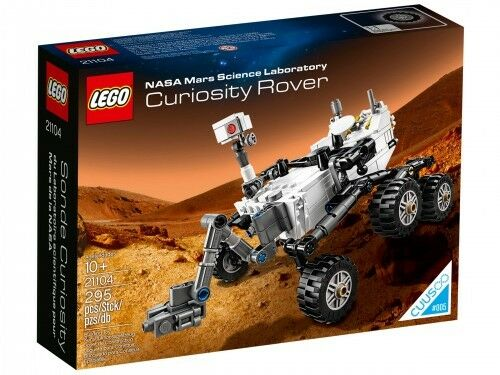 LEGO CUUSOO Nasa Mars Science Laboratory Curiosity Rover 21104 - retired