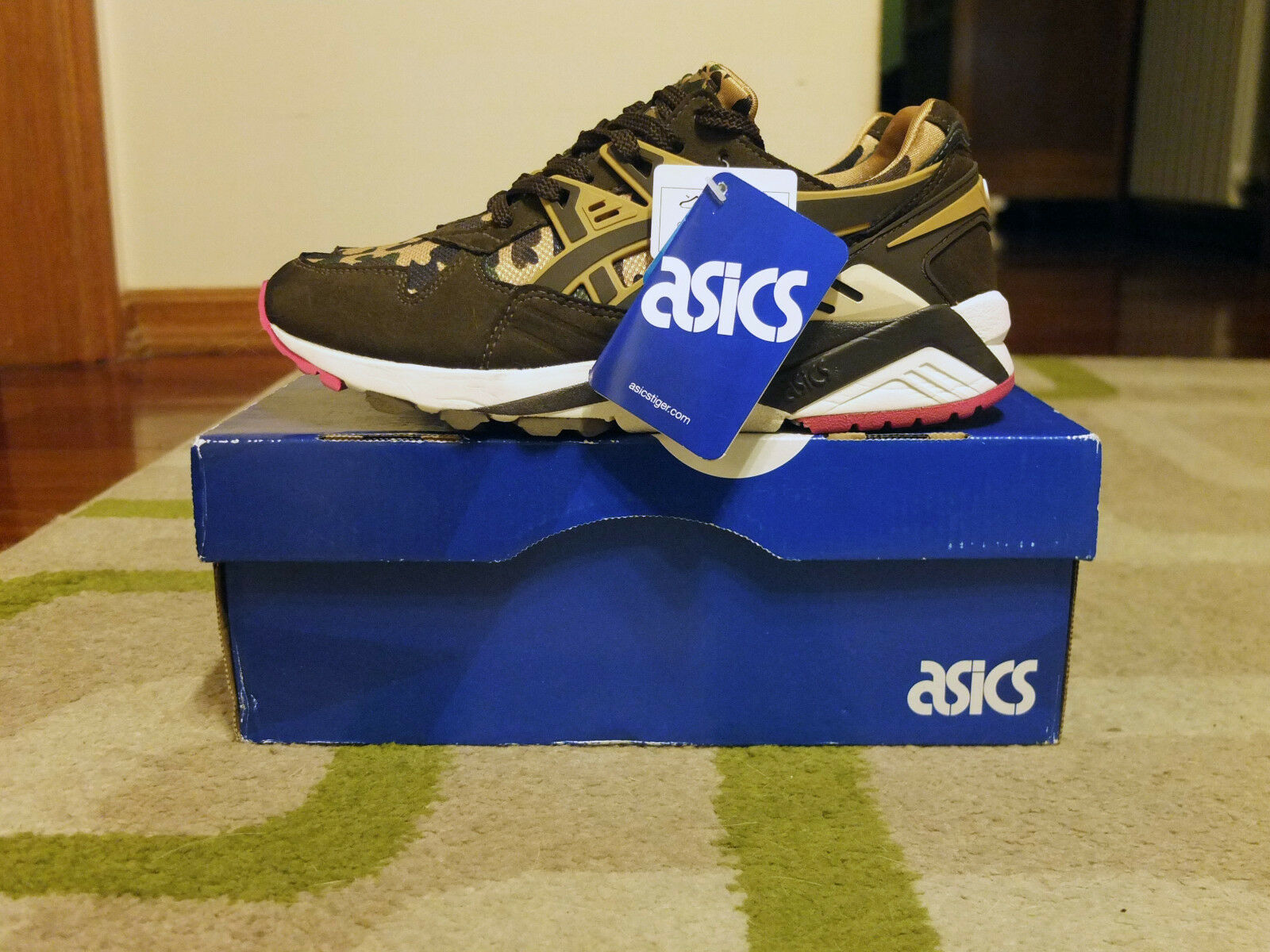 BAPE x ASICS Gel-Kayano UK4.5