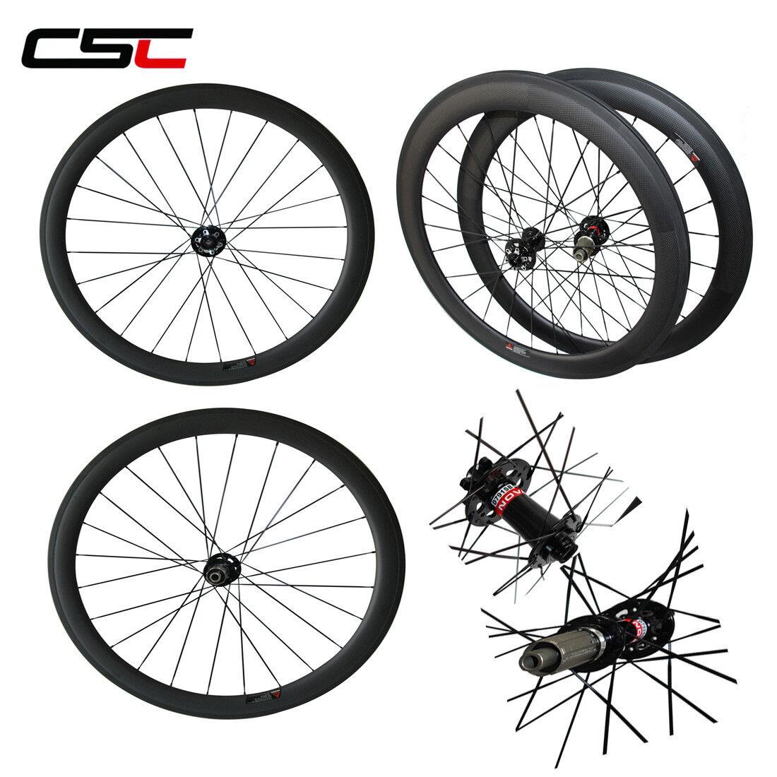 700C Carbon Cyclocross Road Disc Wheelset Novatec 38 50  60 88mm Clincher Tubular  best sale