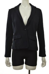 NEW-Banana-Republic-Womens-Blazer-Size-S-Petite-Blue-Long-Sleeve-Career-Jacket