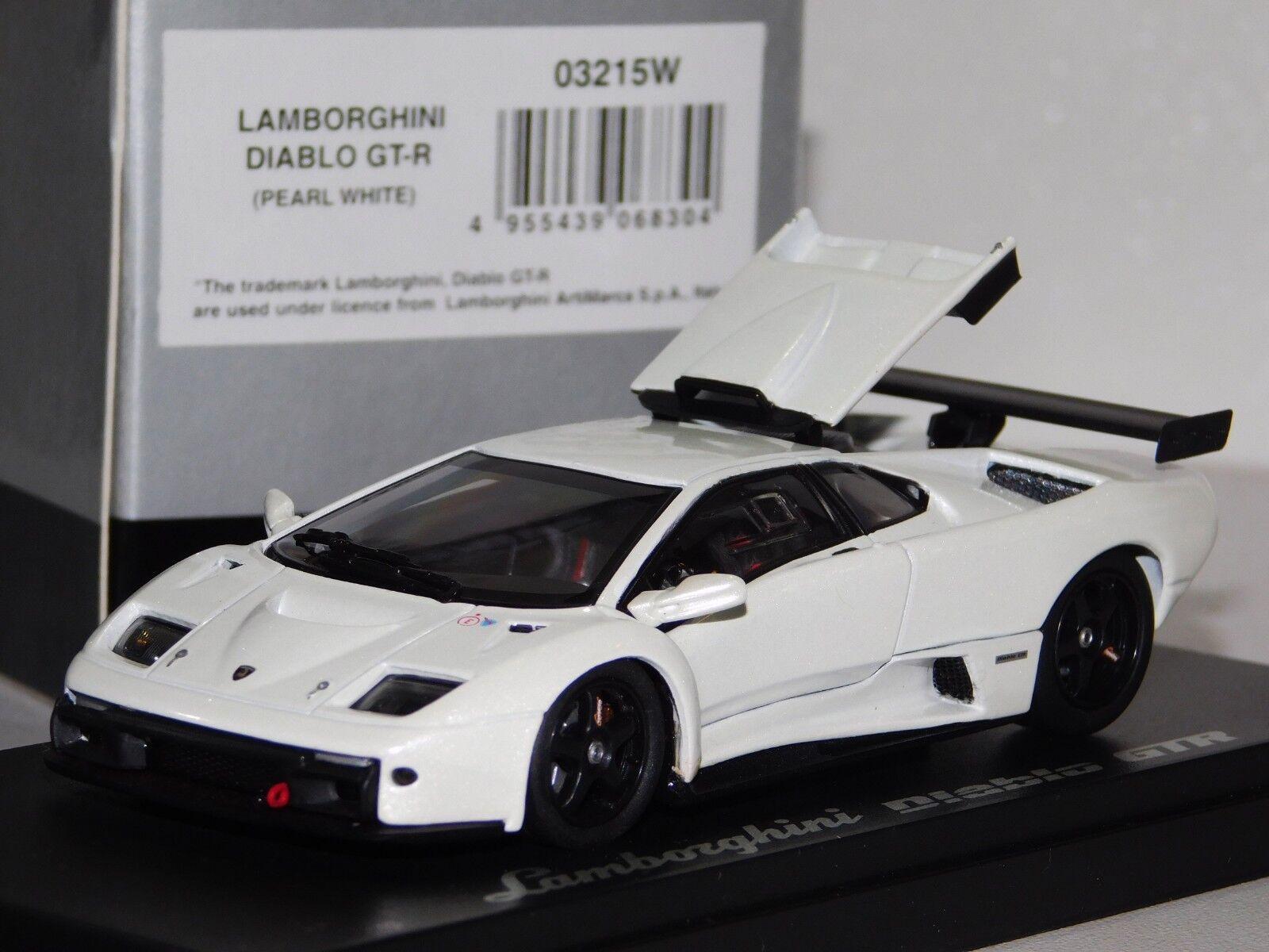 LAMBORGHINI DIABLO GTR PEARL Weiß KYOSHO  03215W 1 43