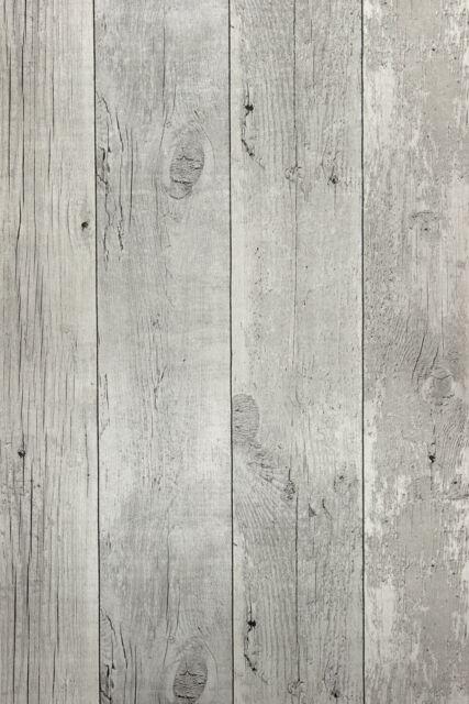 Vlies Tapete Antik Holz rustikal verwittert creme grau vertäfelung 68615 shabby