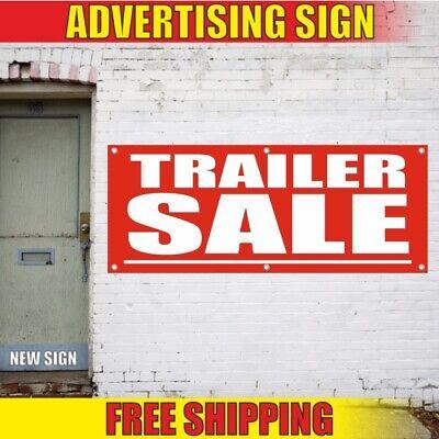 Trailer Advertising Banner Vinyl Sign Flag Truck Car Rental Shop Body Load Sale Ebay