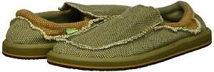 Sanuk Slip On brown Sidewalk uomo Smf1047 Surfers Green Scarpe Chiba new Army da BfnWUwxqHE