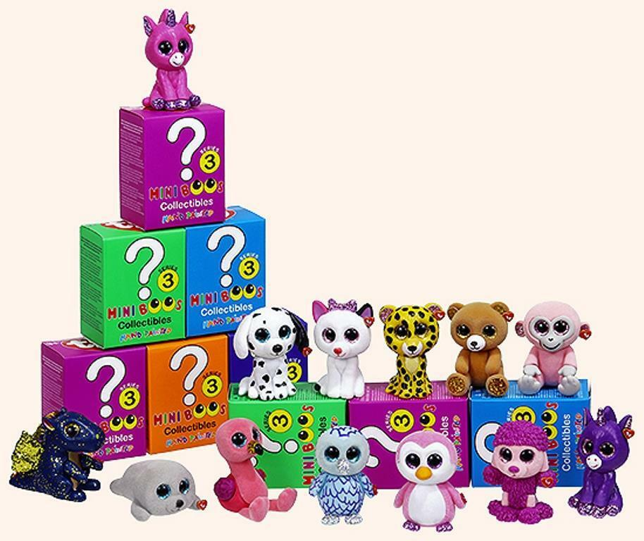 Ty Mini Boos Series 3 Mini Figures Hand Painted Toys  Choose your own Character