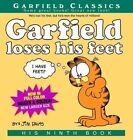 Garfield Loses His Feet: His 9th Book by Jim Davis (Paperback / softback)