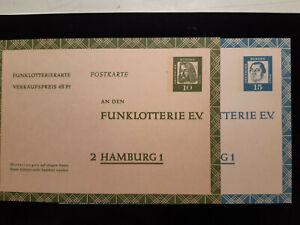 Deutsche Bundespost Ganzsache - Bremen, Deutschland - Deutsche Bundespost Ganzsache - Bremen, Deutschland