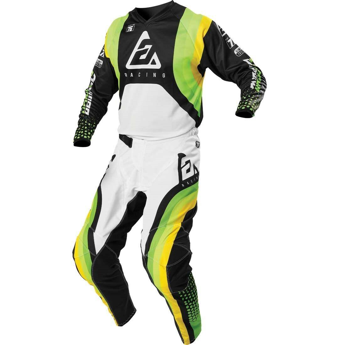 Oneal Element 2018 Racewear Giovent/ù Pantaloni Motocross 22 Nero Grigio 0108-122