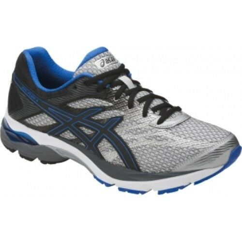 ASICS GEL FLUX 4 Running MENS D Medium WIDTH Glacier grau T714N NEW