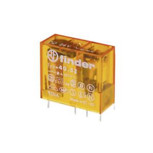 FIN 405280120000 Mini relè 2 scambi 8A con tensione bobina 12Vac
