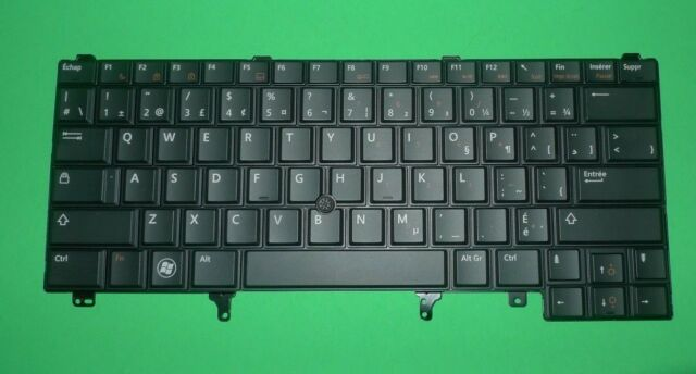 Genuine Dell Latitude E6320 E6420 E5420 E6420 French Canadian Keyboard 338RF