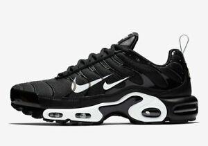Detalles acerca de Para hombres Nike Air Max Plus PRM Zapatos Negro Blanco 815994 004 mostrar título original