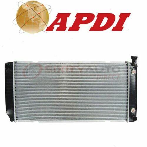 Cooler Cooling Antifreeze wr APDI Radiator for 1996-1999 Chevrolet Silverado