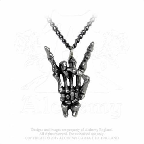 AlchemyMaloik Sign of the HornsPendant//Necklace P797 rock//metal//Black Sabbath