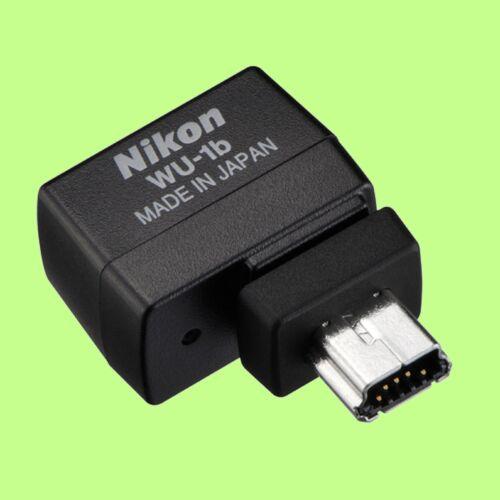 Genuino Nikon Adaptador móvil inalámbrico WU-1b conector Wi-Fi hecho en Japón