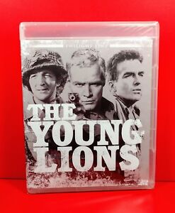 THE YOUNG LIONS (1958) Twilight Time Blu Ray - Marlon Brando, WWII - BRAND NEW