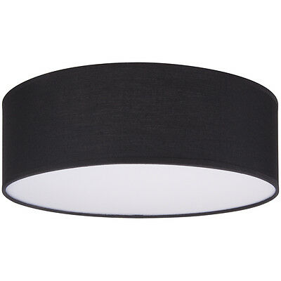 dimmbar Ranex Deckenleuchte Ceiling Dream Deckenlampe rund 20cm E14 schwarz ext