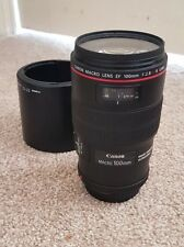 Canon ef 100mm f/2.8L Macro IS USM Lente