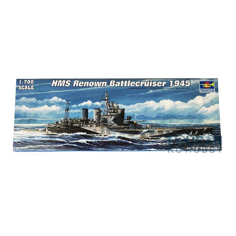 Trumpeter 05765 1 700 Britain HMS Renown 1945 Battlecruiser Model Kit Warship