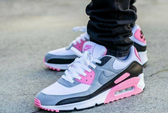 Nike Air Max 90 OG Rose Pink Particle Grey CD0881-101 Running Shoes Men's  NEW